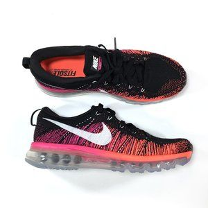 Nike Flyknit Air Max Womens Size 9.5